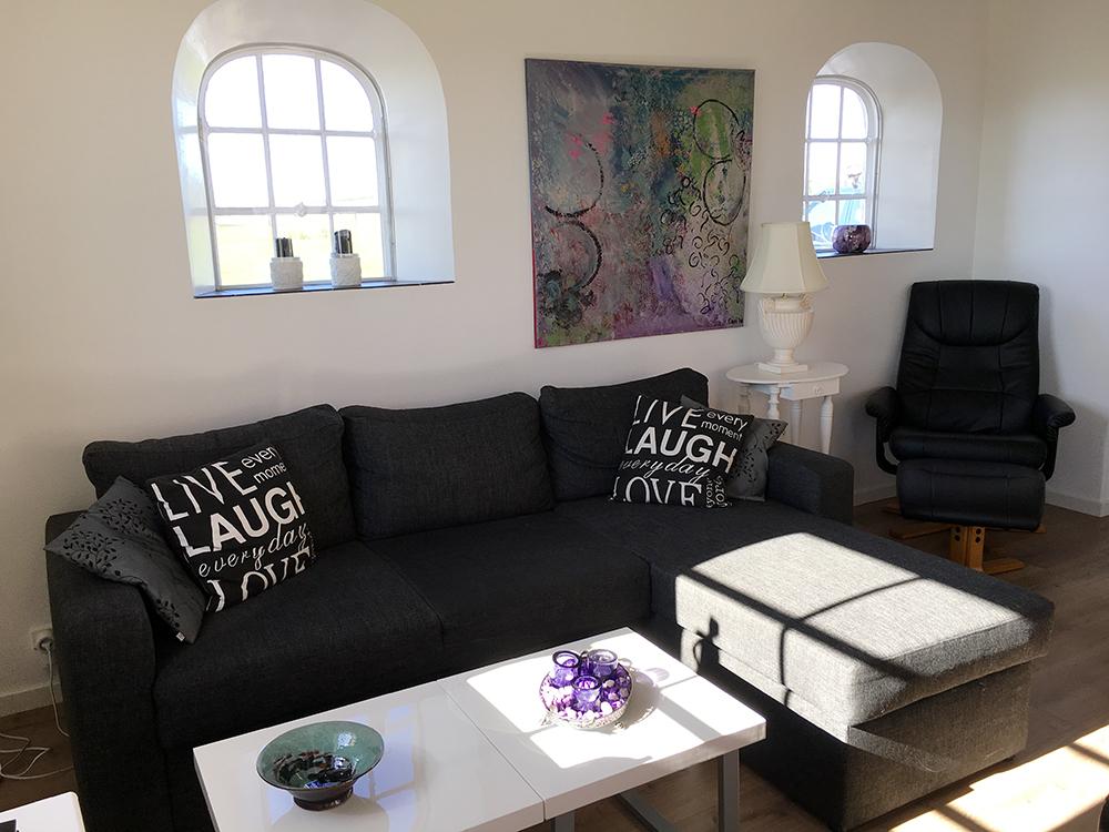 Sofaplads.
